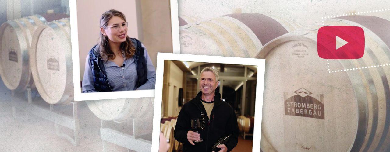 Tamara Elbl, Bernd Döbler und Weinfässer