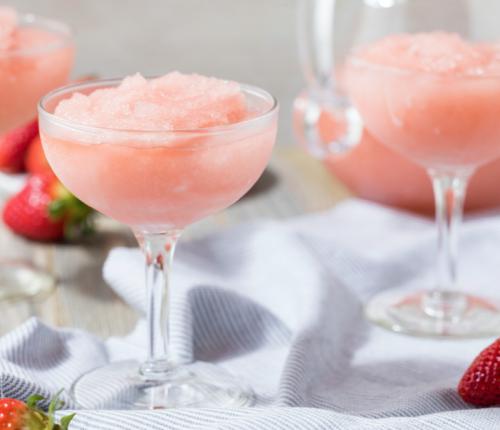 Erdbeer Sekt-Smoothie