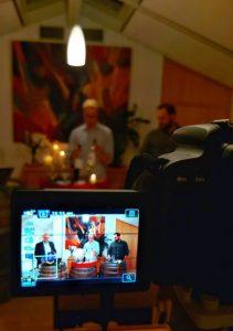 Fellbacher Weingärtner bei ihrer ersten Online Weinprobe