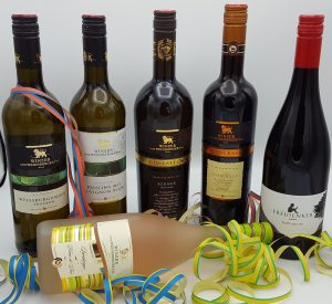 Närrische Online Weinprobe Weinpaket der Winzer vom Weinsberger Tal