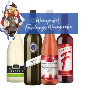 Weinpaket zur Faschingsweinprobe der WG Stromberg-Zabergäu