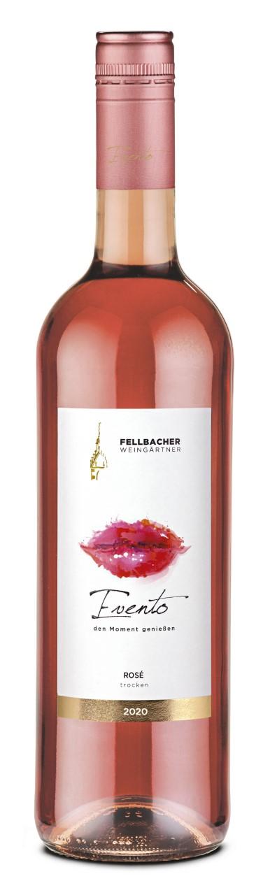 Passt zum Valentinstag: Der Evento Rosé der Fellbacher Weingärtner
