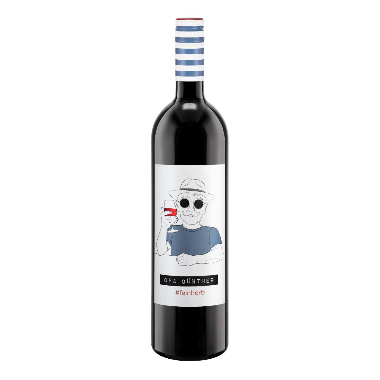 Opa Günther - der feinherbe Wein von der WZG