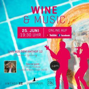 Online Weinprobe Wine & Music