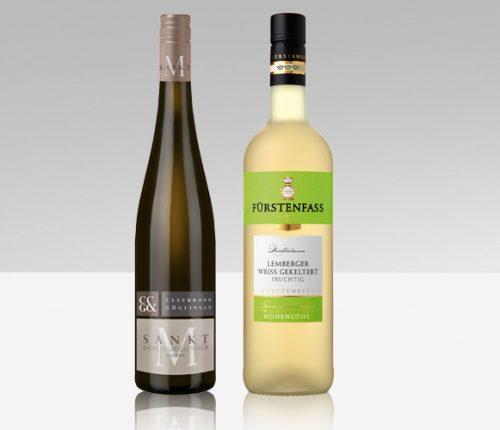 Sommerweine: Die beiden Sieger der Sommerwein Verkostung des Weinbauverbands Württemberg