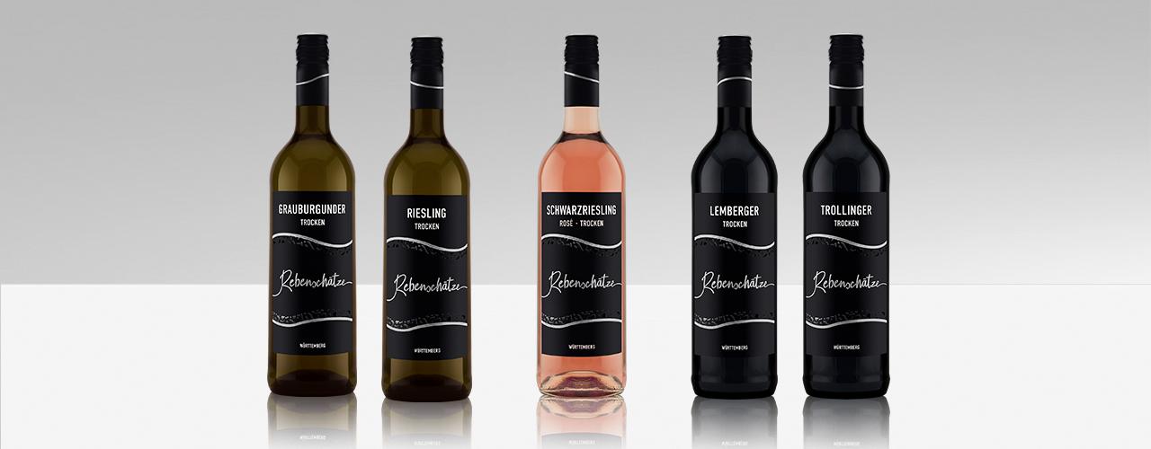 Neue Weinlinie Rebenschätze der WZG