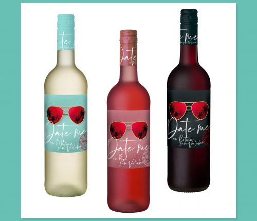 """""""Date me"""" - die drei neuen Weine der Heuchelberg Weingärtner."""