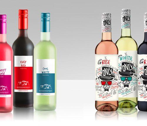 Die beiden sommerlichen Weinlinien der Weingärtnergenossenschaft Hohenneuffen-Teck und Weinkonvent Dürrenzimmern