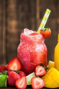 Erdbeer-Wein-Slushie