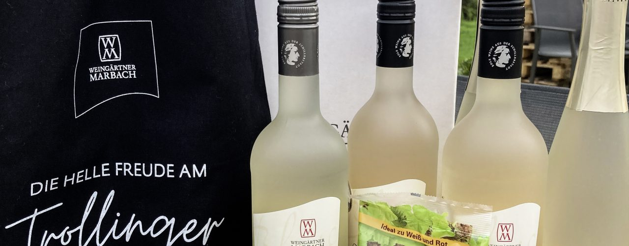 """Die helle Freude am Trollinger"" - die neueste Idee der Weingärtner Marbach"
