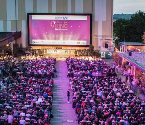 Open-Air-Kino in Heilbronn Überblick Moodbild