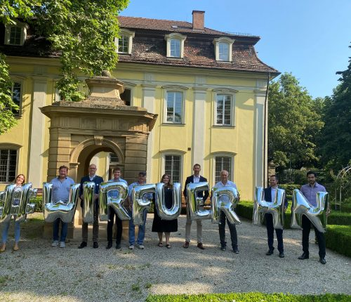 Die teilnehmer der Pressekonferenz zur Weindorf Auslese 2021