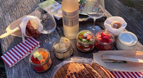 Picknick mit Wein aus Cleebronn-Güglingen