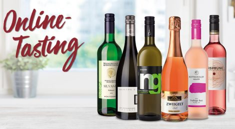 Online-Verkostung: Entdeckt Euren Sommerwein!