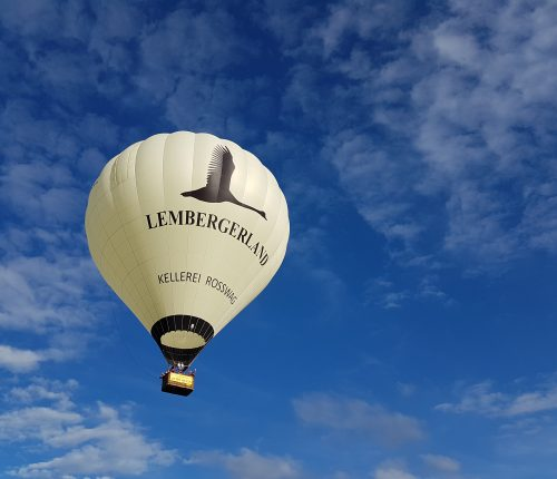 Ausflugstipps in Württemberg: Ballonfahrt über das Lembergerland