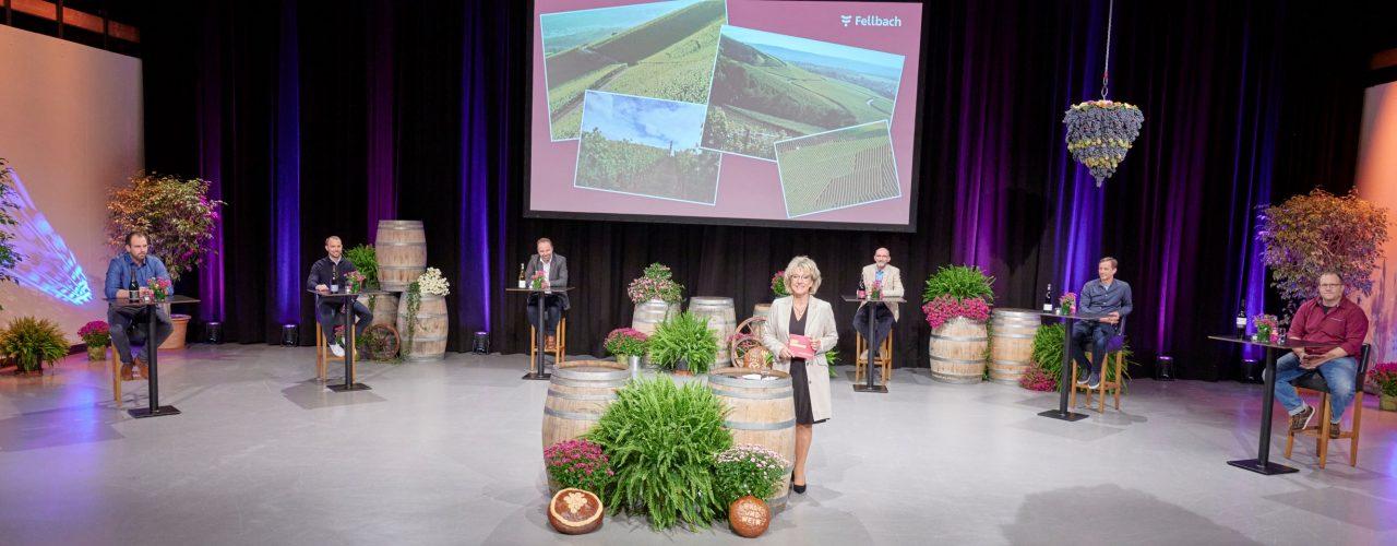 hybride Weinprobe: Fellbacher Herbst