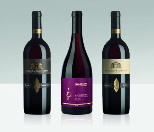 Die drei Württemberger Weine, die bei Meiningers Rotweinpreis 2021 am meisten Erfolg hatten
