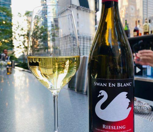 Der Swan en Blanc der Weingärtner Stromberg-Zabergäu mitten in New York City