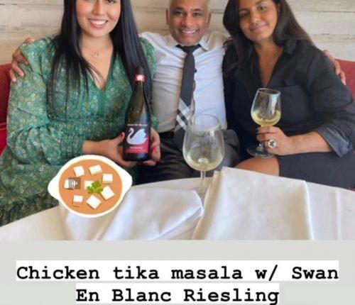 Ein Posting aus dem Instagram-Account des Swan en Blanc der Weingärtner Stromberg-Zabergäu